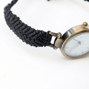 Watch - Black Hemp