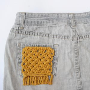 Sew On Patch - Yellow