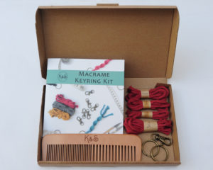 Red keyring kit